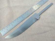 "10"" custom made hunting spring steel knife blank blade with full tang"