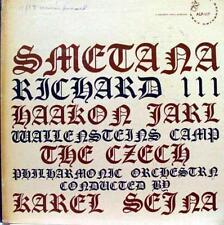 Sejna - Smetana Richard III LP VG+ ALP 117 Vinyl Record