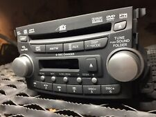 04 05 06 07 08 ACURA TL RADIO RECEIVER 6 DISC CD DVD CASSETTE OEM+Code Included
