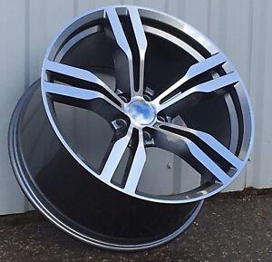 21 inch Alloy wheels fit BMW 5 7 series F01 F02 F07 648 style set 5x120 8.5J 10J