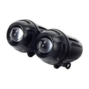 Bikeit Headlight Dominator-2 Twin Round Projector For Motorcycle Motorbike