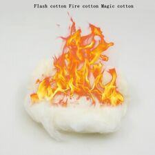 Flash Cotton Fire Cotton Magic Cotton for Flint Flasher Magic Tricks Prop 20g DE