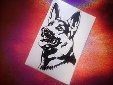 GERMAN SHEPHERD  dog lover cool car window bumper vinyl sticker/decal