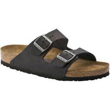 Birkenstock Solid Leather Sandals for Women