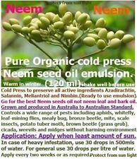 Neem Seed Oil- The Natural Wonder - Organic Eco friendly Plant spray.