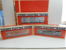 Lionel #19247 Box Car Series Edition One 3 - Pack Set