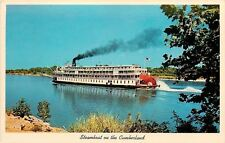 Lake Barkley Tennessee~Cumberland River~Delta Queen Steamboat~1973 Postcard