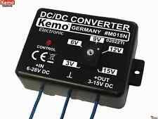KEMO M015N Spannungswandler 6-28 V DC 1,5A 12V auf 24V justierbar