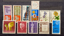 POLAND Stamps 11 Different Condition  Used Year 1966-67 Cv21' $2.75  (1878)