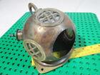 Antique Deep Sea Desk Decor Solid Brass & Copper Mini Diving Divers Helmet