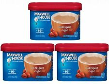 3 Maxwell House HAZELNUT CAFE Coffee Creamer Drink Mix Beverage Mix
