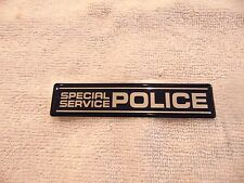 FORD TAURUS CROWN VICTORIA SPECIAL SERVICE POLICE TRUNK EMBLEM EG1Z5442528B