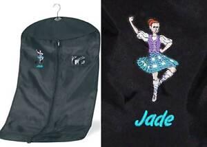 Personalised Highland Dance Garment Costume Carrier Bag