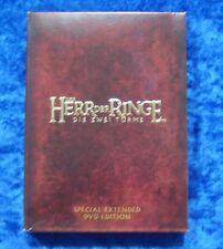 Der Herr der Ringe Die zwei Türme Special Extended Edition, 4 DVD Box