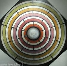 RAYMAC Rare panneau 94 Abstrait Cubiste 102cm Cinétique