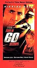 Gone in 60 Seconds (VHS, 2001, Exclusive Video Bonus Edition)