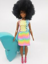 New curvy Barbie clothes color changing outfit dress casual fashionista shoes