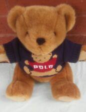 Ralph Lauren Polo Teddy Bear Plush Sweater 1997 Stuffed Jointed Legs