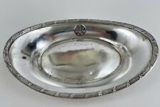 "Antique ""M"" Matson Lines Silver Soldered Dish International Silver"