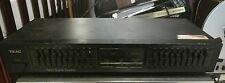 TEAC Graphic Equalizer EQA-3 10-20 band black 60hz 8w stereo home component