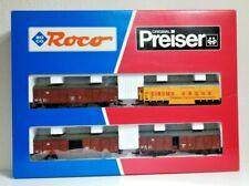 Roco / Preiser 43008 43009 Krone Circus Complete 8 Car Set HO Scale