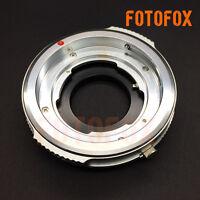 DKL-AI Brass Voigtlander Schneider DKL Lens to Nikon AI NF Mount Adapter Silver