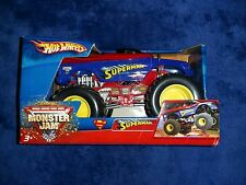 Hot Wheels Monster Jam DC Comics**SUPERMAN** 2006 Racing  Diecast **NEW IN BOX**