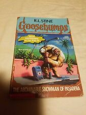 Goosebumps: The Abominable Snowman of Pasadena No. 38 by R. L. Stine (1995, Pape