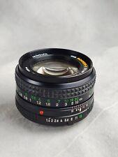 Minolta 50mm F1.4 MD Lens (S1-6)