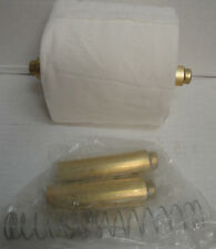 2 pc Toilet Paper Roll Bathroom Tissue Replacement Holder Spindle Brass-Gold New