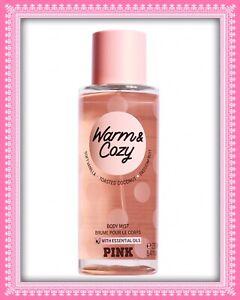 (1) Victoria's Secret PINK WARM & COZY Vanilla & Coconut Body Mist 8.4oz NEW