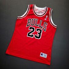 100% Authentic Michael Jordan Vintage Champion Bulls Jersey Size 48 L XL Mens