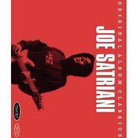 JOE SATRIANI - ORIGINAL ALBUM CLASSICS 5 CD CLASSIC ROCK & POP NEU