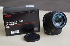 SIGMA 18-250 mm f3.5-6.3 DC Macro HSM | neuf dans sa boîte | Pentax K