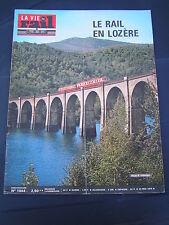 vie du rail 1976 1544 VILLEFORT PRéVENCHèRES MENDE MARJéVOLS CHANAC MONASTIER LE