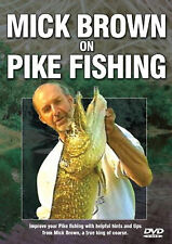 Mick Brown On Pike Fishing  - DVD - BRAND NEW SEALED angling