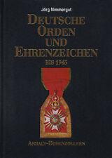 Deutsche Orden und Ehrenzeichen bis 1945 - Band I Nimmergut RAR Selten!