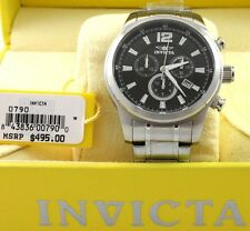 IInvicta Men's 0790 II Collection Chronograph Stainless Steel Watch  MSRP$495.00