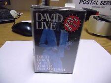 David Bowie Live At [Aladdin Sane Rebel Rebel] 1990 Ryko 2 Cassette Tapes NEW