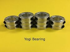 "1-5/16"" Aluminum Double Split Shaft Collar - 2ASC-131 - 10pcs"
