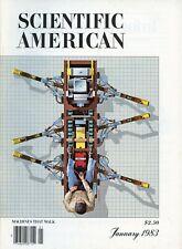 Scientific American Magazine January 1983 Machines That Walk, Organ Pipes