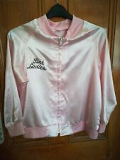 Grease Pink Ladies Fancy Dress Jacket to fit size 10/12