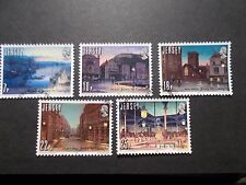 Jersey 1981 Commemorative Stamps~Gas Light~Very Fine Used Set~UK Seller