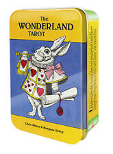 WONDERLAND TAROT IN TIN Deck Card Set Alice fortune teller oracle cards