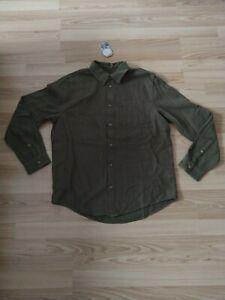 NEU Nudie Jeans,  Hemd, Shirt Chuck Fluid Twill Army M