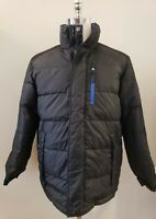 NWT TOMMY HILFIGER Mens REVERSIBLE DOWN PUFFER JACKET COAT /M #Z