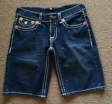 True Religion Billy Super T denim shorts made in USA size 32 great condition