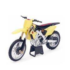 1/12 New Ray 2014 Suzuki RM-Z450 Dirt Bike Motorcycle Yellow 57643