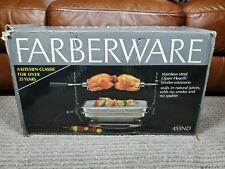 FARBERWARE Open Hearth BROILER / ROTISSERIE #455ND New In Open Box