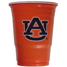 Auburn Tigers 18 Count - 18 Oz Disposable Plastic Cups NCAA Licensed